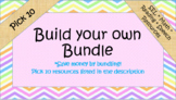 Build your own Custom Bundle- Pick 10!