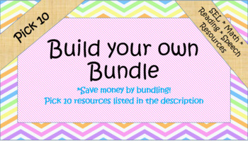 Build your own Custom Bundle- Pick 10!