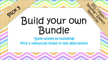 Build your own Custom Bundle- Pick 5!