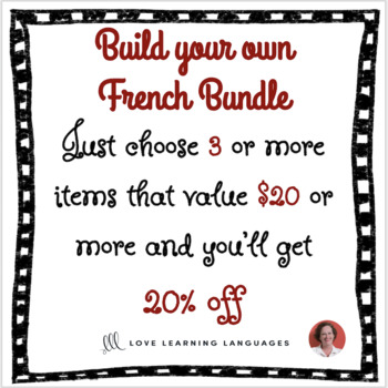 Build your own French bundle