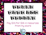 Build your own bundle and save $$