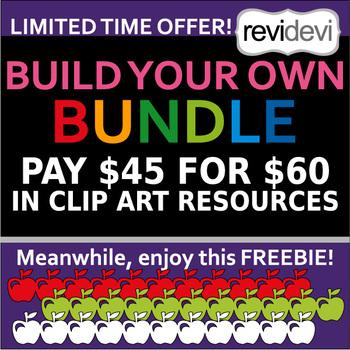 Build your own bundle clip art - choose your own favorite clipart collection