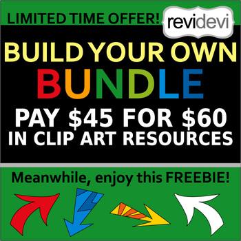 Build your own bundle clipart - choose your own favorite clip art
