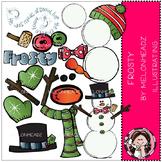 Melonheadz: Build your own frosty clip art