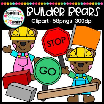 Builder Bears Clipart