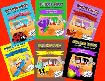Builder Bugs 6 Unit Bundle: Exploring STEM with Little Learners Grades K & 1