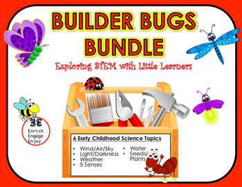 Builder Bugs 6 Unit Bundle: Exploring STEM with Little Lea