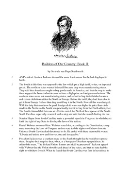 Builders of our Country - Informational Text Test Prep