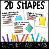 Building 2D Shapes Task Cards