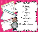 Building 2D Shapes with Toothpicks and Marshmallows