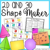 Building 2D and 3D Shapes