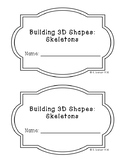Building 3D Skeletons Booklet