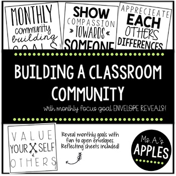 Building A Classroom Community with Reveal Envelopes