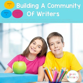 Building A Community of Writers 3-6: Procedural Writing Workshop Mini-Lessons