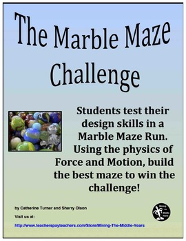 Building A Marble Maze – Engineering Challenge – STEM Activity