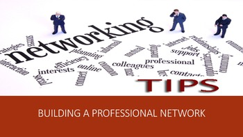 Building A Professional Network Lesson