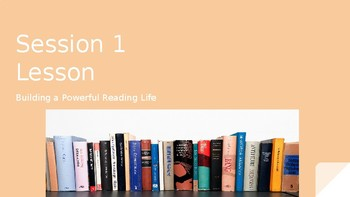 Building A Reading Life PPT