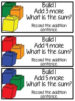 Building Addition Math Small Groups