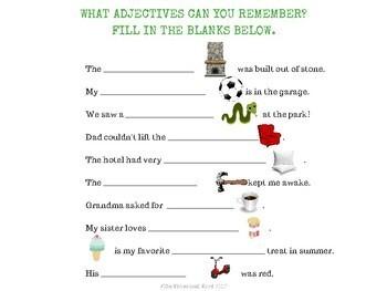 Building Adjectives Language Lesson NO PRINT Digital Teletherapy