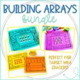 Building Arrays: Fall & Winter Work Mats/Dice Games for Target Erasers (BUNDLE)