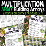 Building Arrays Multiplication Games Grades 3-4
