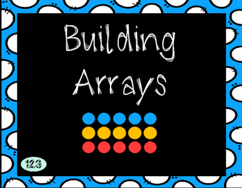 Building Arrays with Repeated Addition  [2.OA.C.4]