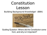 Building Background Knowledge on the Constitution