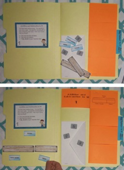 Building Bar Models Addition and Subtraction Task Cards (3 Levels)