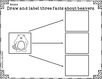 Building Beavers Comprehension Game Kindergarten
