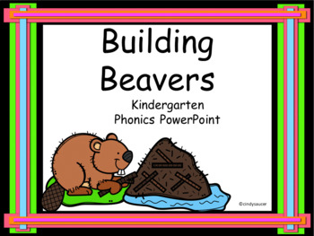 building beavers interactive powerpoint kindergarten by cindy saucer
