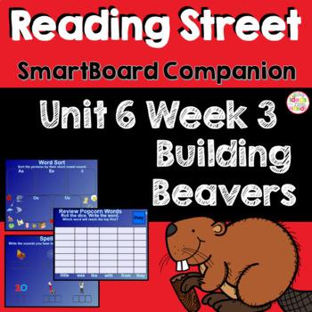 Building Beavers SmartBoard Companion Kindergarten