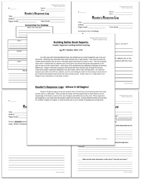 Building Better Book Reports: Reader's Response Logs