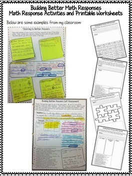 Building Better Math Responses by Runde\'s Room | TpT