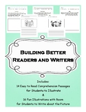 Building Better Readers & Writers- No-Prep Pack (Comprehen