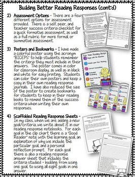Building Better Responses Bundle - Reading, Writing, and Math