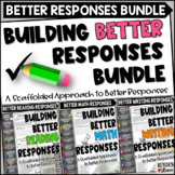 Building Better Written Responses Bundle