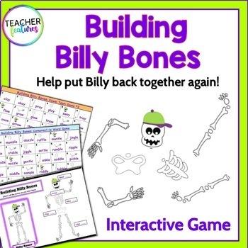 Halloween Games & Word Work VOWEL TEAMS, BLENDS & SIGHT WORDS
