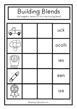 Building Blends Cookie Tray Cards - SET 2