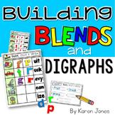 Blends & Digraphs {Magnetic Letter Center}
