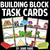 Building Block Activity Task Cards