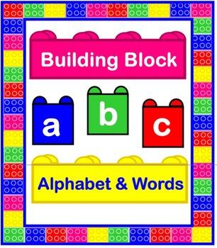 Building Block Alphabet & Words