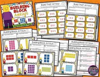 Array Math Centers with Blocks