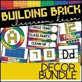 LEGO Classroom Decor | Building Block Classroom Decor