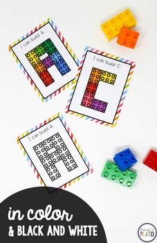 Building Block Letters and Numbers
