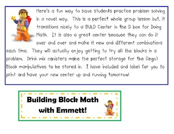 Building Block Math