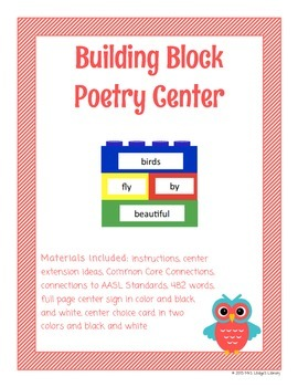 Building Block Poetry Library Center