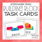 Building Block STEM Task Cards