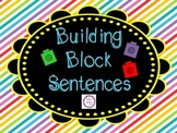 Building Block Sentences