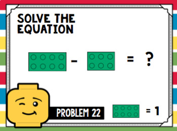 Building Block Task Cards: Adding and Subtracting Fractions