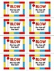 Building Bricks Testing Treat Labels: Full Color and Ink S